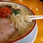 田中そば店山形辛味噌ラーメンの麺
