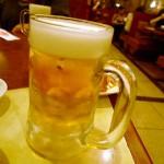 焼肉ひがしやま生ビール150円