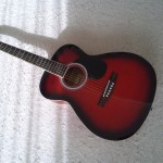 くじ引きで当たったギター